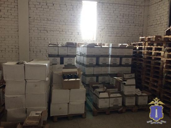 В Ульяновске из незаконного оборота изъяли 5 тысяч литров алкоголя