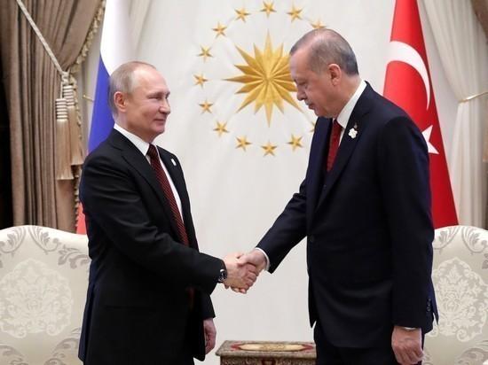 У него их много: Эрдоган «увел» девушку у Путина