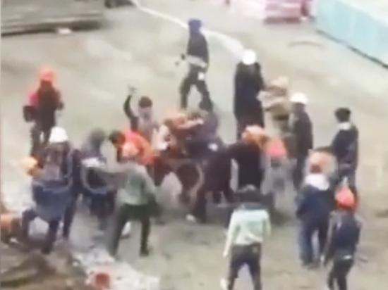 Рабочие пустили в ход арматуру
