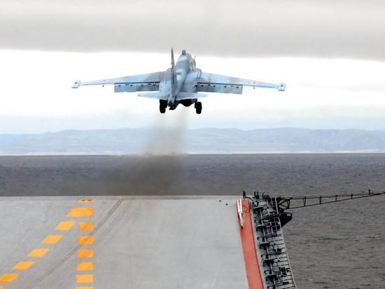 Российский адмирал признал превосходство авианосцев США над «Адмиралом Кузнецовым»