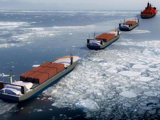 Таким образом будет повышена эффективность морских перевозок