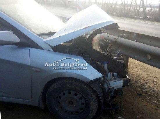 В Белгородской области столкнулись трактор и иномарка