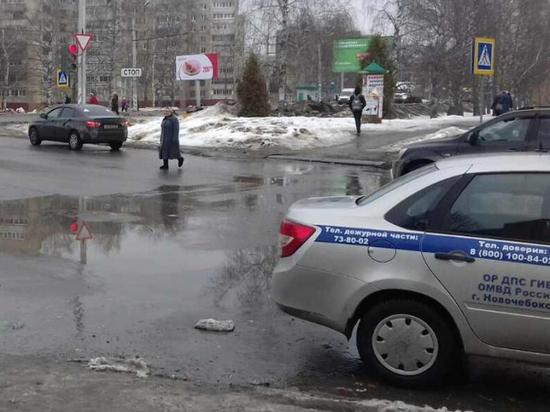 В Новочебоксарске задержали водителя иномарки, скрывшегося после наезда на пенсионерку