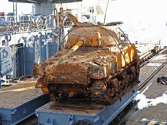 Американский танк доставят для реставрации во Владивосток