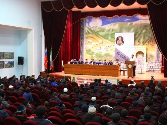 Маджлис в честь газеты «Ас-салам» состоялся в Гумбетовском районе