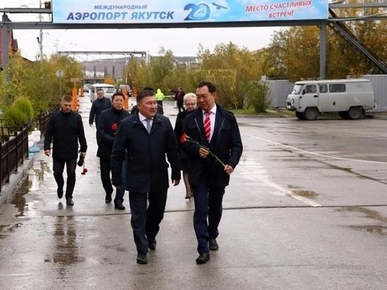 в Якутске открыт памятник авиатору