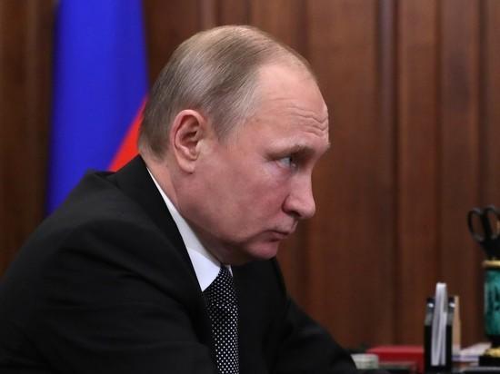 Путин уволил больше десяти генералов из силовых структур