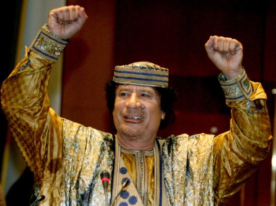 По словам дипломата, лидер Джамахирии пожертвовал €20 млн