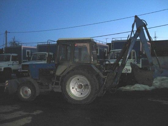 Трактор сбил женщину в Тамбове