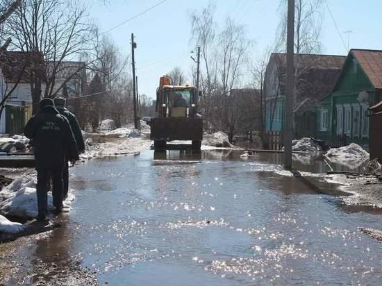В Моршанске из подтопленных домов эвакуировали 22 человека