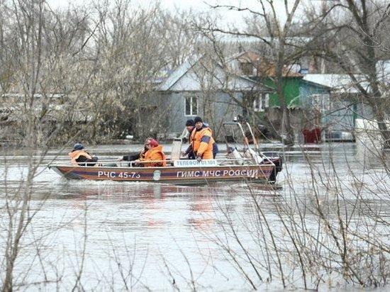 Борьба с паводком в Волгоградской области набирает обороты