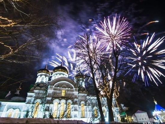 Митрополит Казанский и Татарстанский Феофан возглавил пасхальную службу в Раифском монастыре