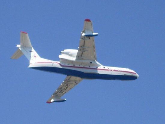 Противопожарный самолет-амфибия пополнит авиаотряд спасателей