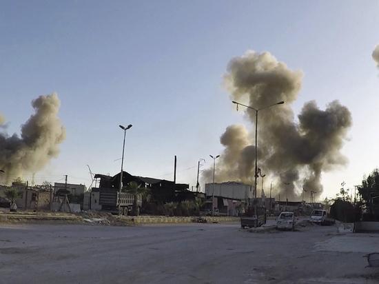 Минобороны РФ опровергло сообщения о химической бомбардировке в Сирии