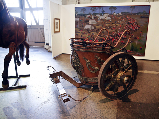 Рассел Кроу продал колесницу из-за развода