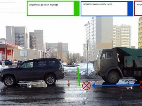 Водитель «КамАЗа» сбежал с места ДТП в центре Архангельска