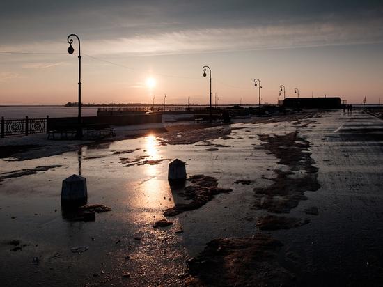Похолодание в Архангельской области будет незначительным – снег продолжает таять