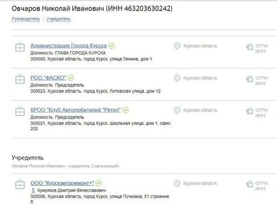 Николай Овчаров вне действия российского законодательства?