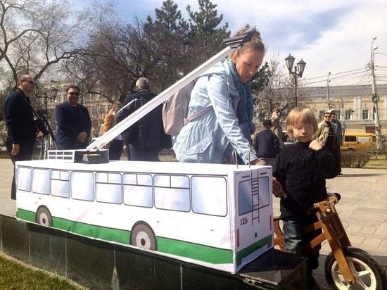 В Астрахани снова попытались вернуть троллейбусы.