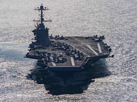 США отправили к Сирии ударную группу с авианосцем