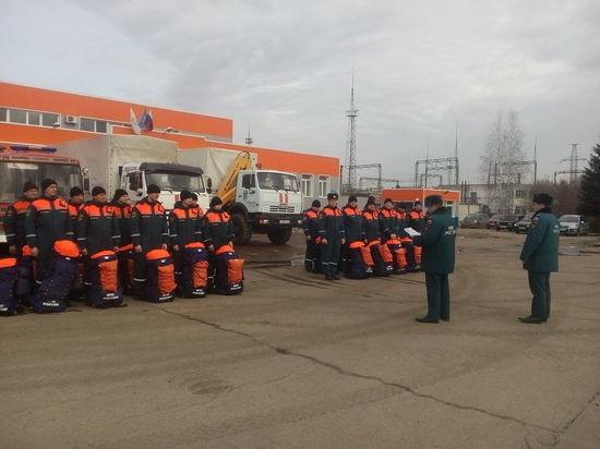 МЧС направило противопаводковые группы в два района Нижегородской области