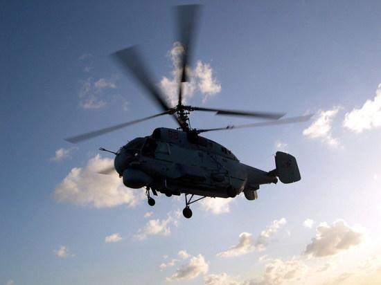 В заливе Петра Великого тренируются вертолетчики ТОФ