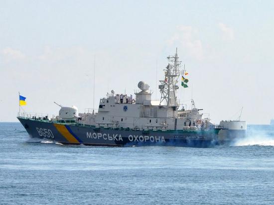 Украина арестовала российское судно за добычу песка в