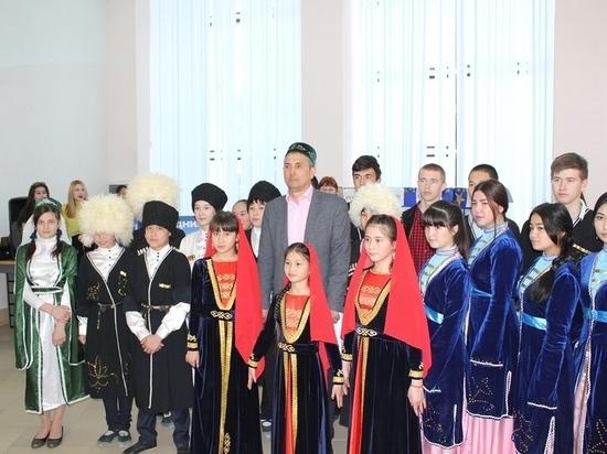 В Нефтекумске прошел фестиваль национального искусства