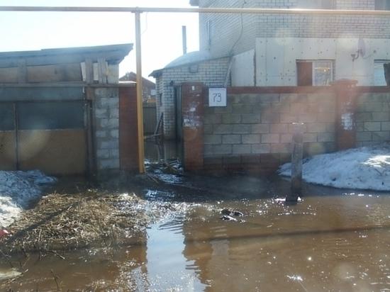 В селе Ставропольского района затопило 10 частных домов и 20 приусадебных участков