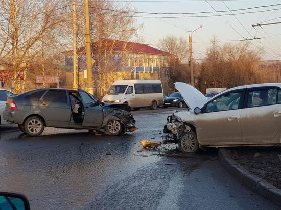 В Саранске пьяный водитель устроил тройное ДТП