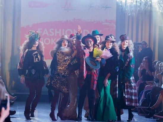Благотворительный проект завершился модной инсталляцией