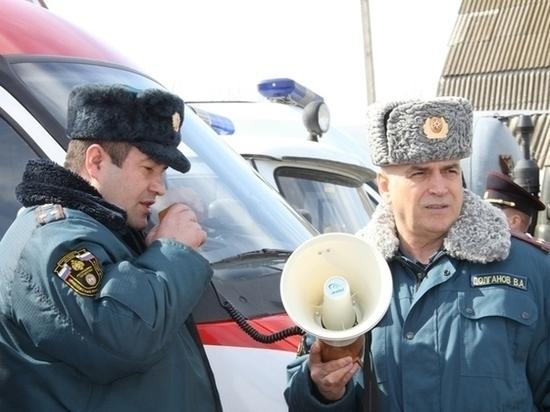 В Зеленодольском районе спасатели провели учения на дамбе