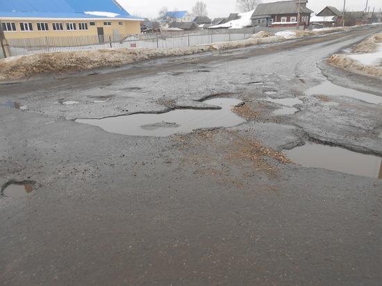 Ремонт дорог в Нижегородской области не доходит до Шахуньи