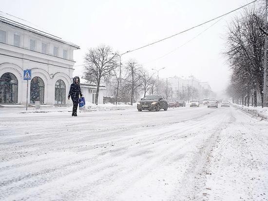 В Ульяновской области ожидаются снегопад и метели с порывами ветра до 18 м/с