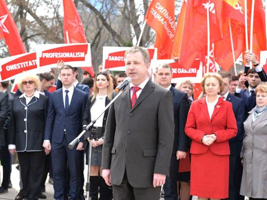 Александр Усатый выдвинут кандидатом ПСРМ на пост примара Бельц