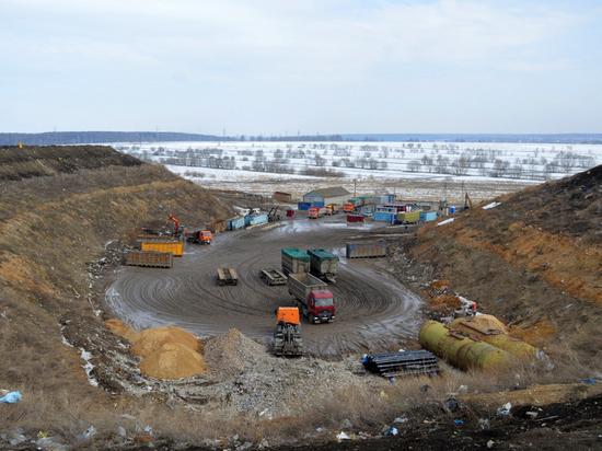 На «Лесной» проводят дегазацию и будут взвешивать мусор