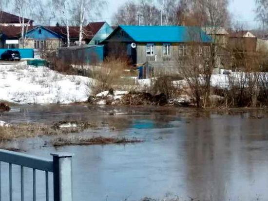 В Кайбицком районе подтопило три дома, может затопить еще около 30