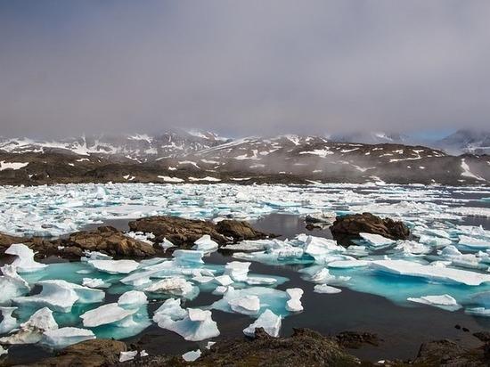 В Гренландии обнаружена  «темная зона», предвещающая катастрофу