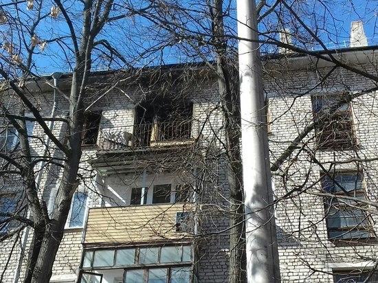 Мужчина погиб на пожаре на улице Куйбышева в Нижнем Новгороде