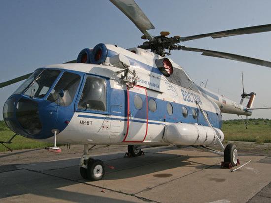 Крушение Ми-8 в Хабаровске