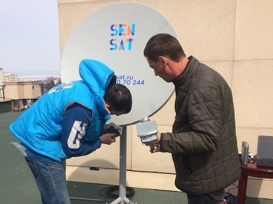 Спутниковый Интернет пришел на Сахалин