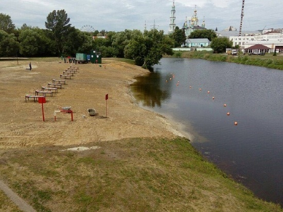 В Тамбове началась подготовка к пляжному сезону
