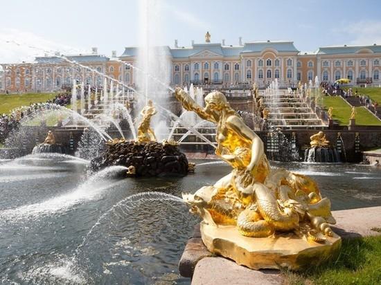 Петергофские фонтаны начнут работать 28 апреля