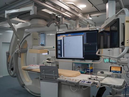 Новый ангиографический комплекс появился  в Окружной клинической больнице