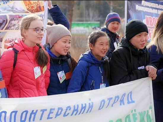 В Улан-Удэ прошел X юбилейный республиканский слет-форум волонтеров здорового образа жизни