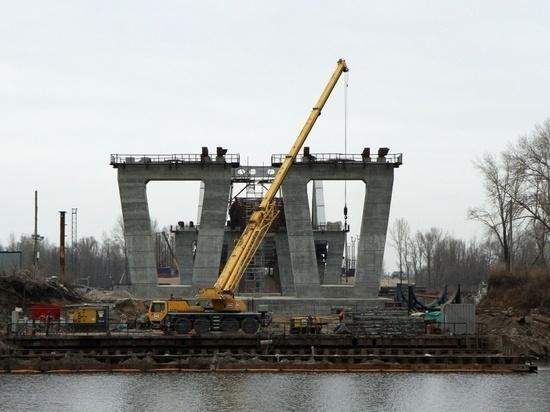 Строительство Фрунзенского моста продлится еще два года