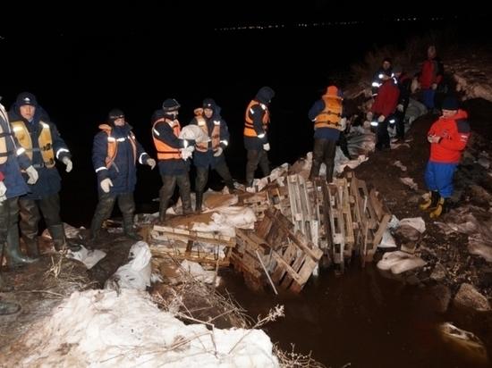 В Ставропольском районе талыми водами затопило 100 приусадебных участков и 8 жилых домов