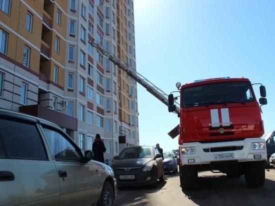 В многоэтажке на севере Тамбова прошли пожарно-тактические учения