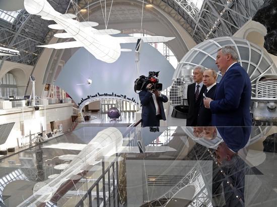 Путин захотел отправить Терешкову на Луну