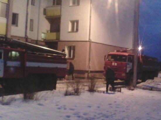 В Маймаксе при ночном пожаре погибли два человека